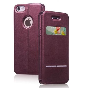 Coque étui Hoco Smart Series iPhone 5/5S/SE