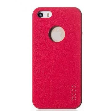 Coque cuir Hoco Paris Series iPhone 5/5S/SE