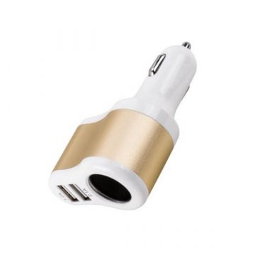 2 USB Cigarette Lighter Car Charger