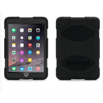 Indestructible Survivor Case Black for iPad Mini