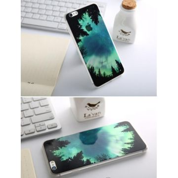 Coque Souple Aurore Boréale iPhone 6 Plus/6S Plus
