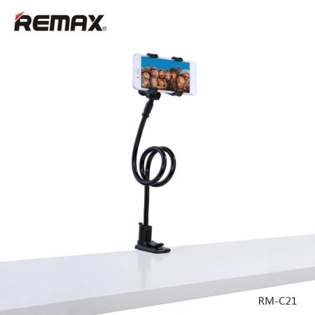 Support smartphone avec pince Remax