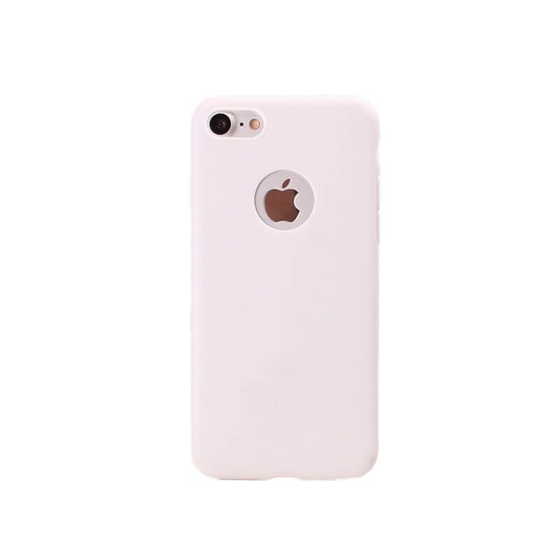 coque iphone 8 blanche silicone