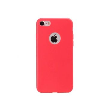 Silicone Case for iPhone 7 / iPhone 8 - Red Coral