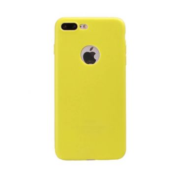 Silicone Case for iPhone 7 Plus - Green Apple