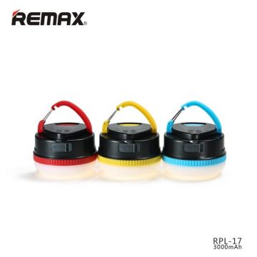 Batterie Externe Power Bank Lampe LED Remax