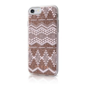 Guess Tribal Taupe Cover iPhone 7 / iPhone 8