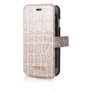 Etui Guess Croco Beige iPhone 7 / iPhone 8