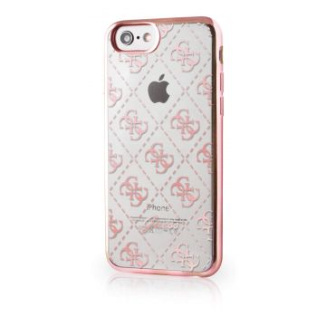 Guess licht rose Cover iPhone 7 / iPhone 8