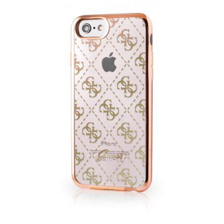 Guess Clear Gold Case iPhone 7