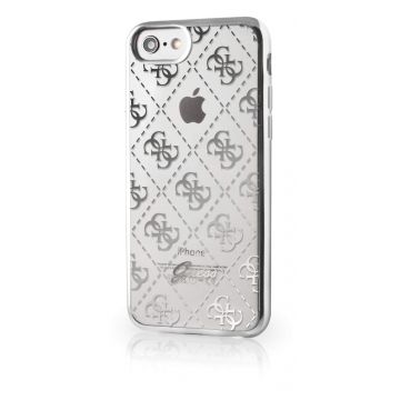 Guess Clear Silver Case iPhone 7