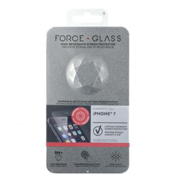 Force Glass Lifetime Warranty Screen Protector iPhone 6 / iPhone 6S / iPhone 7 / iPhone 8