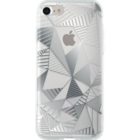 Bigben Silver Graphic Case iPhone 7