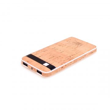 Cork Power Bank 10000 mAh External Battery
