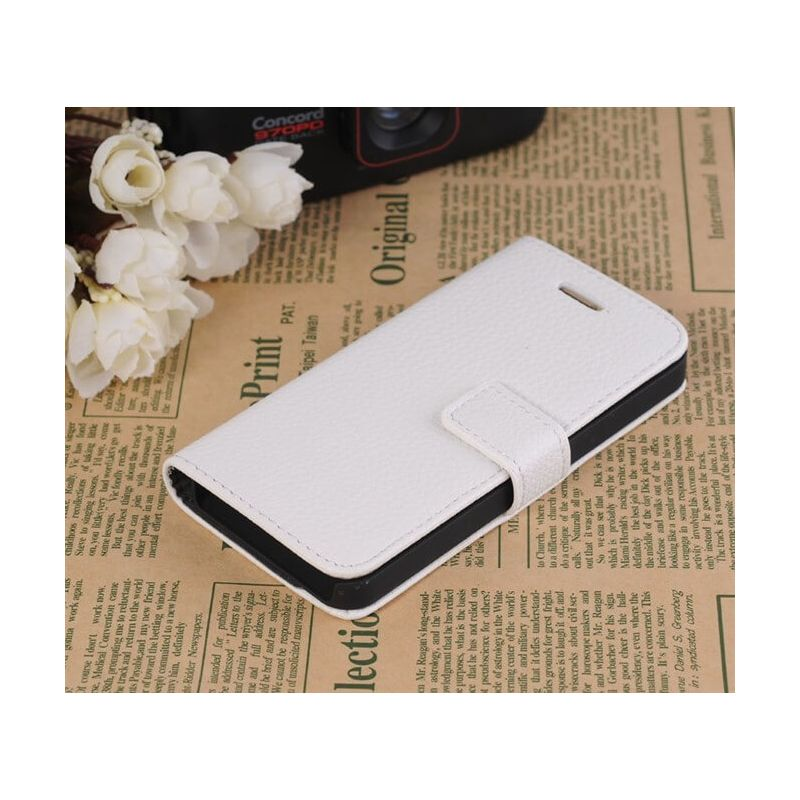 Portfolio Stand Case White iPhone 5/5S/SE