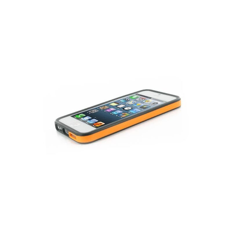 TPU Bumper Orange and Black for iPhone 5/5S/SE