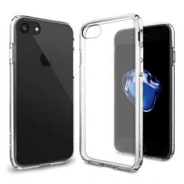Doorzichtig cover iPhone 7 TPU
