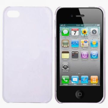 Crystal Cover  zachtpaars IPhone 4 4S