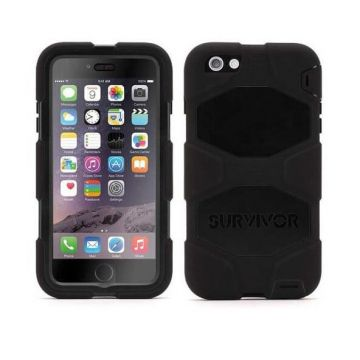Coque Indestructible Survivor noire iPhone 6