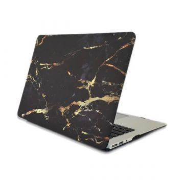 "Gold Marble Soft Touch Case MacBook Pro 13"" with or without Touch Bar"