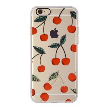 TPU Cherries iPhone 6 6S Case