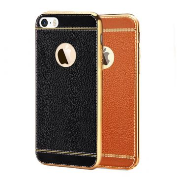 Imitation leather iPhone 7 soft case