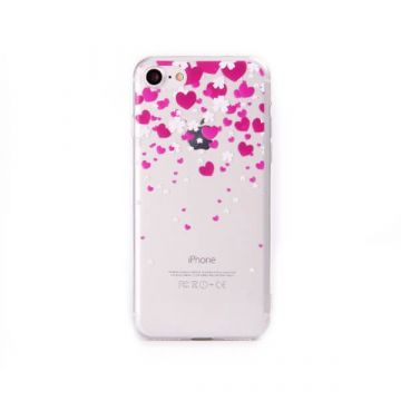 TPU Little Hearts iPhone 7 Case