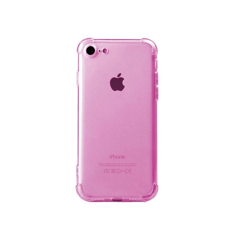 coque antichoc iphone 8 or rose