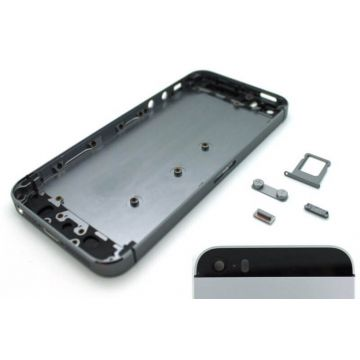 Complete frame and metallic border for iPhone 5s Space grey
