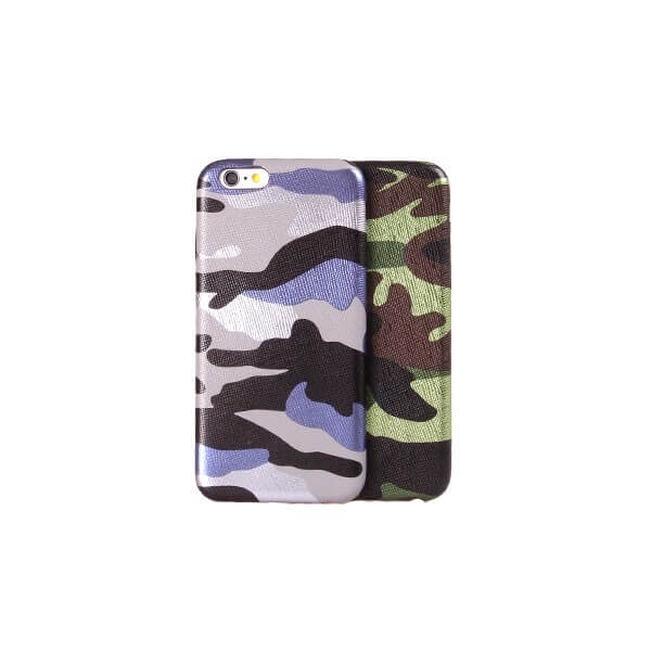 Leger camouflage hoesje iPhone 7 / 8