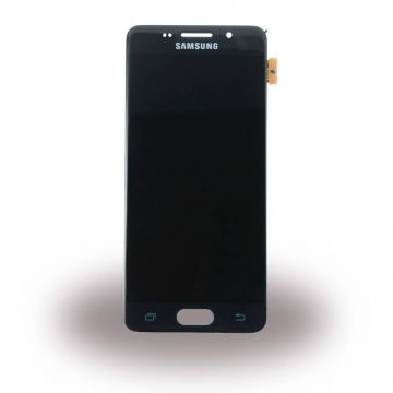 Original quality complete screen for Samsung A3 (2016) Black