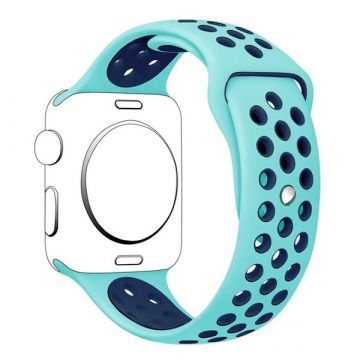 Siliconen bandje Sport Apple Watch 38mm Turkoois
