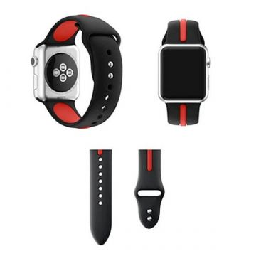 Silicone strap Sport Band Apple Watch 38mm Black