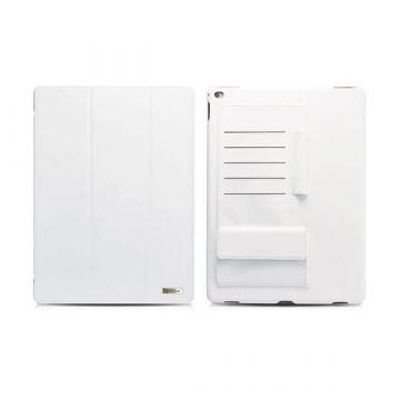 "Etui Business en cuir blanc multi-cartes Icarer pour iPad Pro 12,9"" (2015)"