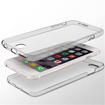 Dual TPU Case 360 Graden Cover 2 in 1 Transparant iPhone X Xs