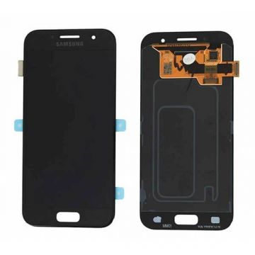 Original quality complete screen for Samsung A3 (2017) Black
