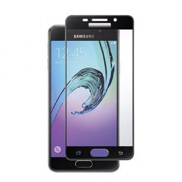 Tempered glass Screenprotector Samsung A5 (2017) - Zwart