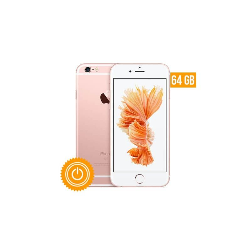 iphone 6s plus 64 go or rose reconditionn grade a macmaniack. Black Bedroom Furniture Sets. Home Design Ideas