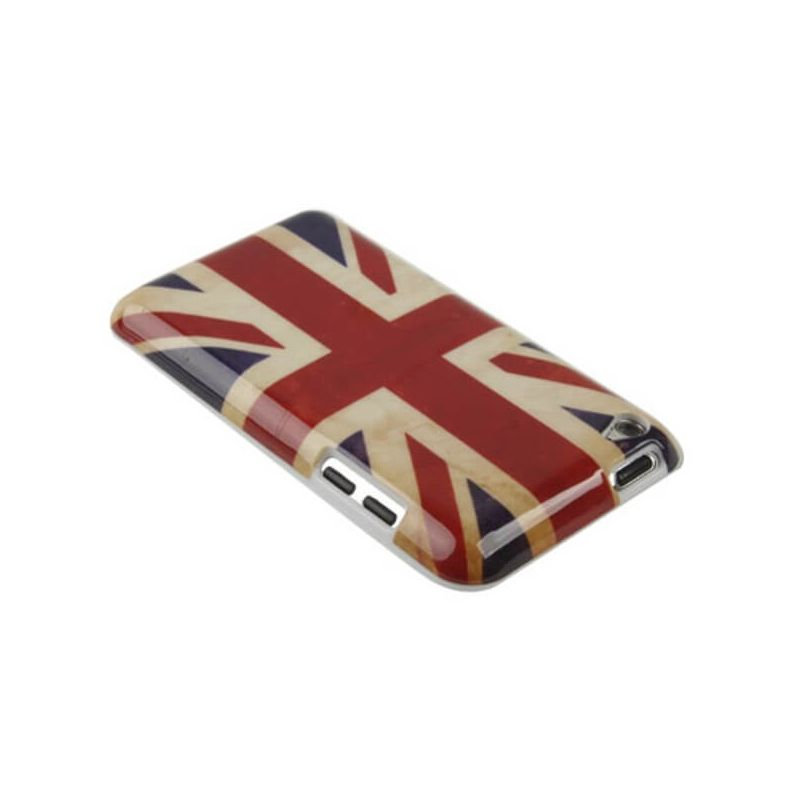 Cover Case Vintage UK Flag iPod Touch 4