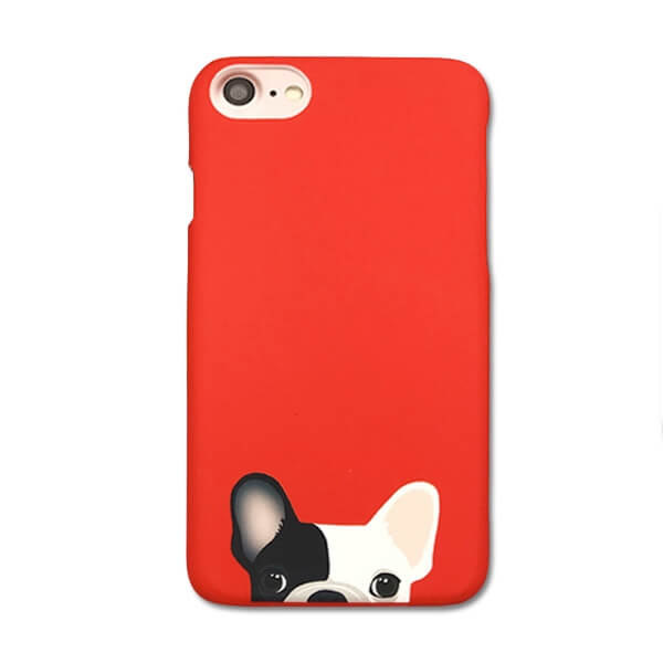 Hard case Soft Touch French Bulldog iPhone 6 / iPhone 6S