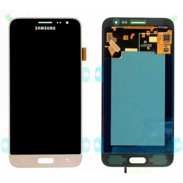 Original quality complete screen for Samsung J3 (2016) Gold