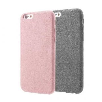 Coque souple en nubuck iPhone 7 Plus / iPhone 8 Plus