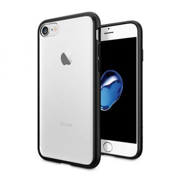 Transparent TPU case with black borders for iPhone 7 / iPhone 8
