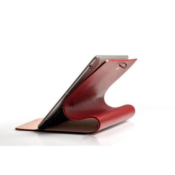 Evouni Brown Smart Cover Case iPad 2 & 3
