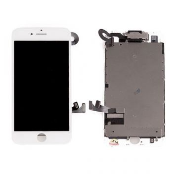 Ecran complet assemblé BLANC iPhone 7 Plus (Qualité original)
