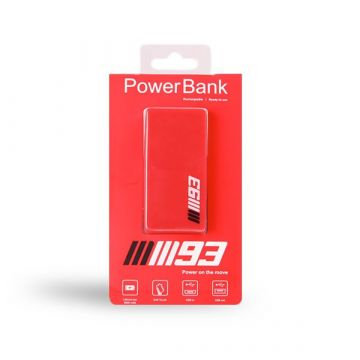 Power bank Marc Marquez 5000 mAh rouge