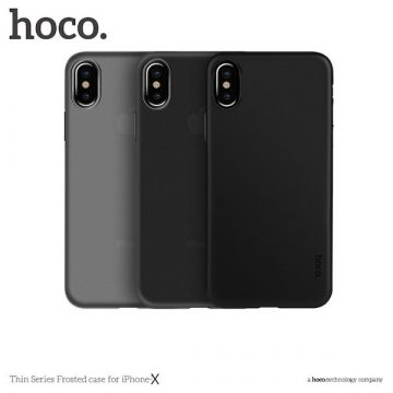 Coque Hoco Thin Serie mate iPhone X
