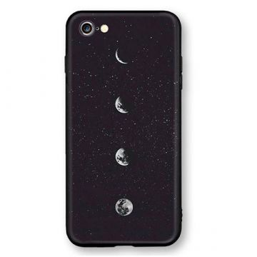 Coque rigide Soft Touch Lune  iPhone 6 6S