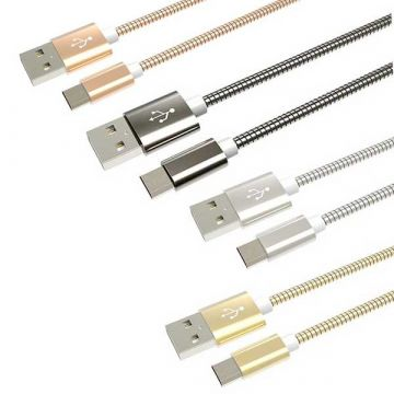 Micro USB metalen kabel