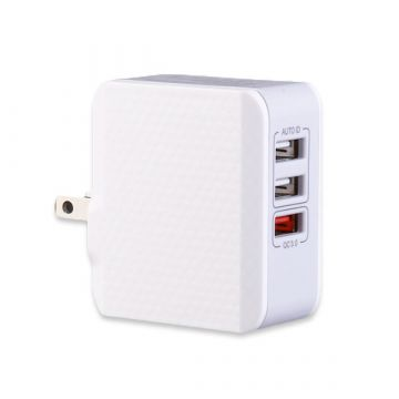 Chargeur USB 3 Ports Quick Charge